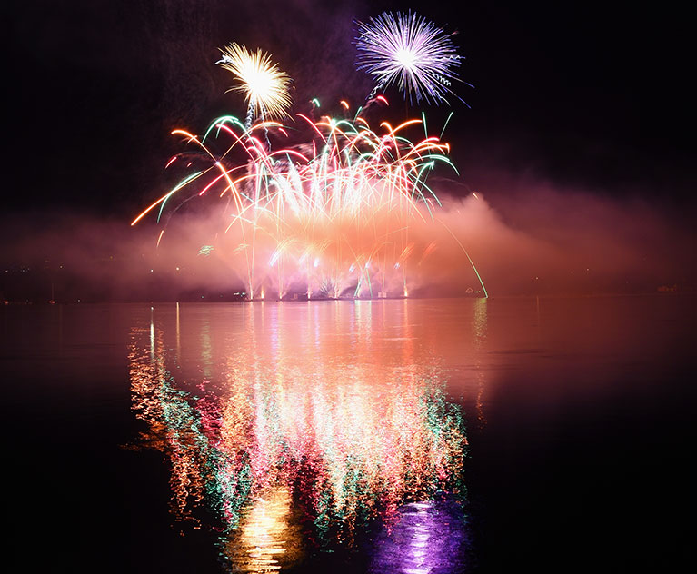 Silvester am See
